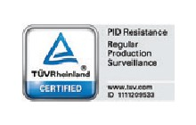 TUV PID Resistance - Regular Production Surveillance